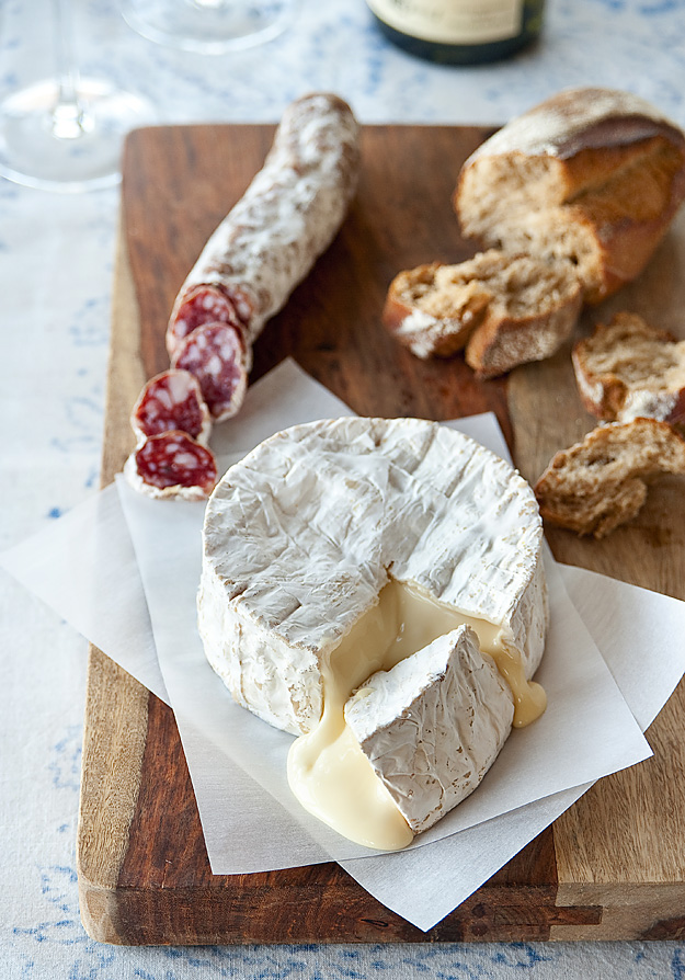 Gooey, earthy, creamy, pungent French camembert. (1/5)