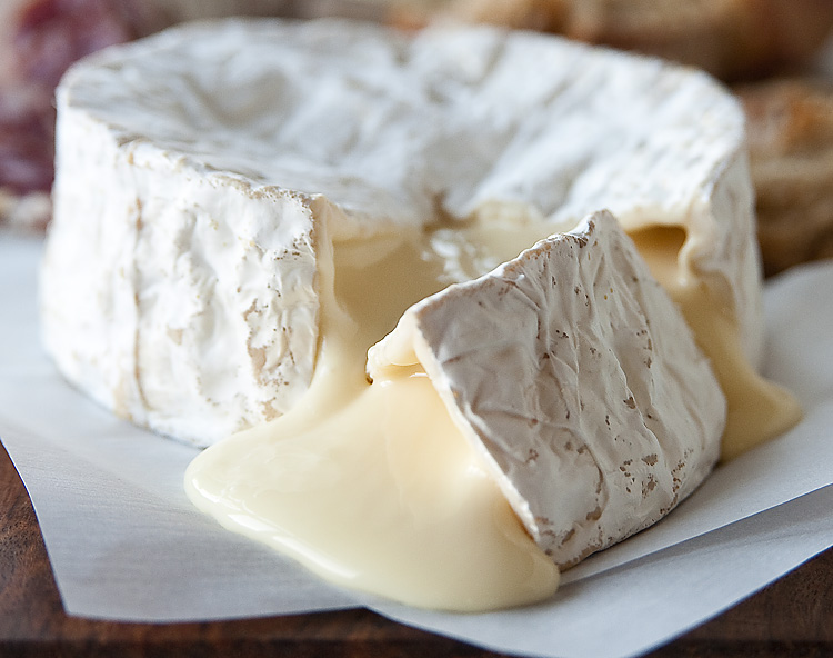 Gooey, earthy, creamy, pungent French camembert. (2/5)