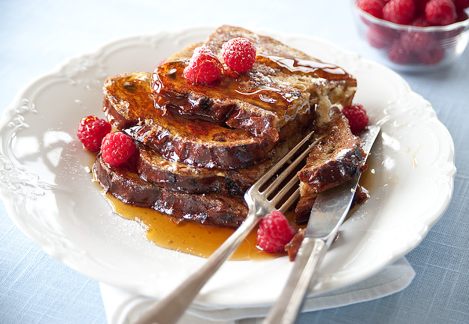 Good morning...with French toast! (1/2)
