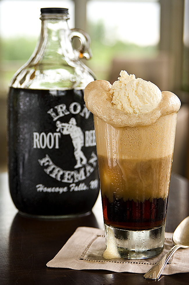 You know you want one...the creamy root beer float!