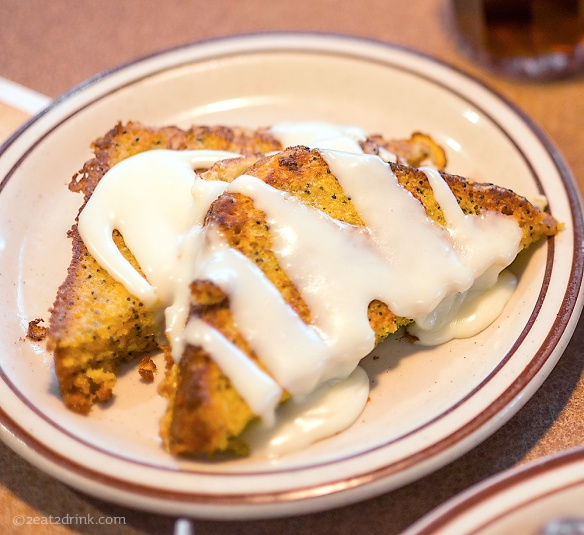 Seed Cake French Toast.