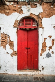 Old San Juan red door.