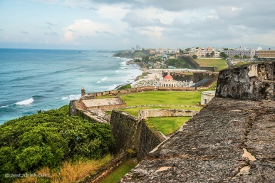 The view from El Morro.