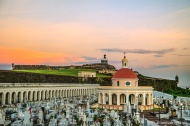 Sunrise over El Morro.