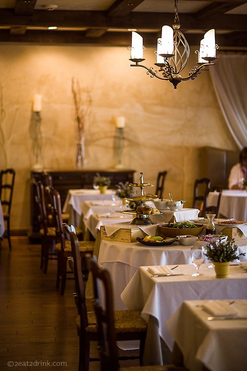 Dining Room: Mirbeau = Indulgence