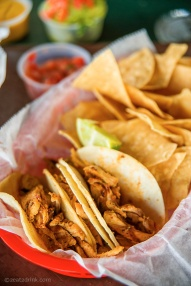 La Cantina's tacos.