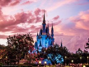 Cinderella's blue castle!
