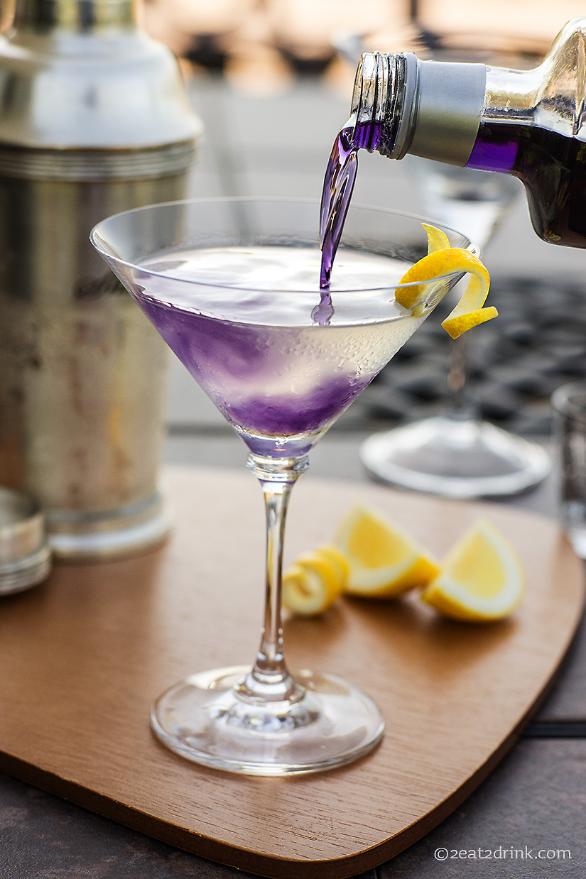 The aviation purple drinks are cool 2eat2drink for Easy alcoholic mixed drinks