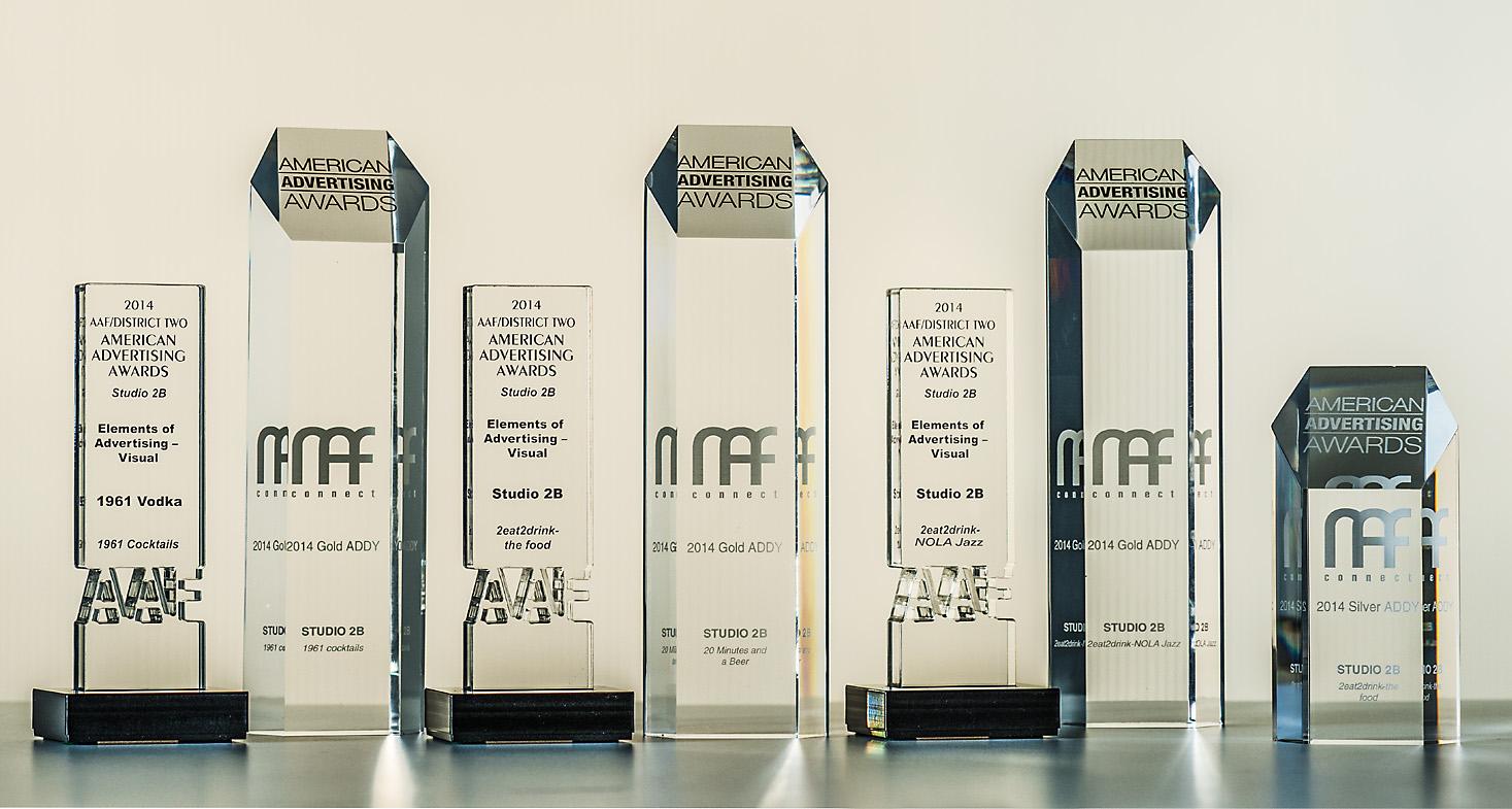 Addy Award Trophy 2015