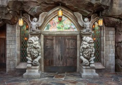 Be Our Guest entrance.