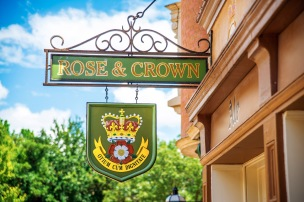 The Rose & Crown Pub.